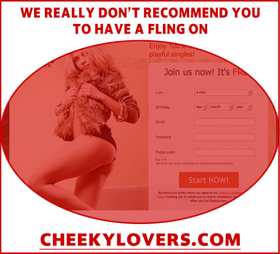 Screenshot of CheekyLovers